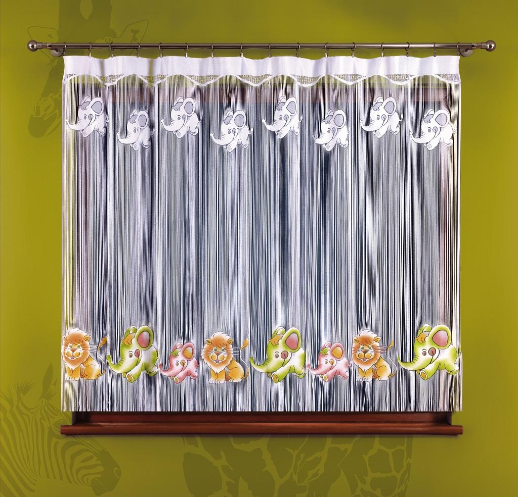 Firany Dla Dzieci Makarony Malowane Szer 280 Cm Wys 160 Cm N1041